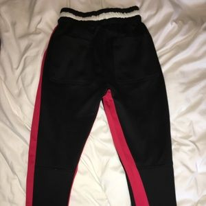 PacSun Pants - FOG striped track pants